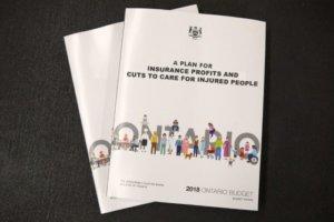 Ontario's 2018 Budget Brochure
