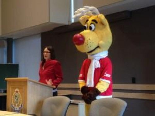 Operation Red Nose Mascot