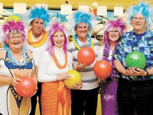 The team at bowlathon