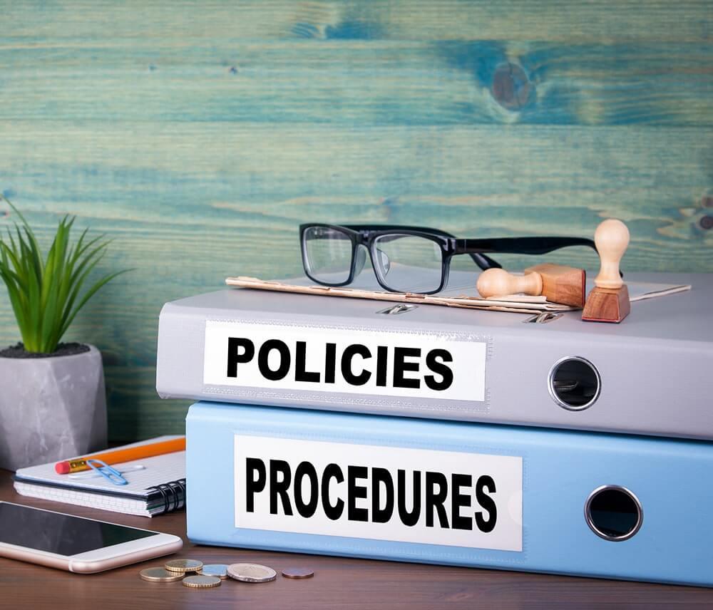 workplace policies in Burlington