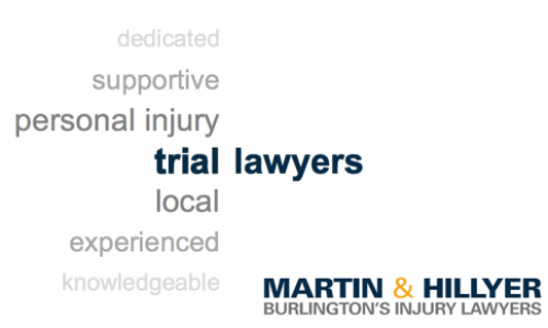 Trail Lawyers In blue with Martin and Hillyer logo