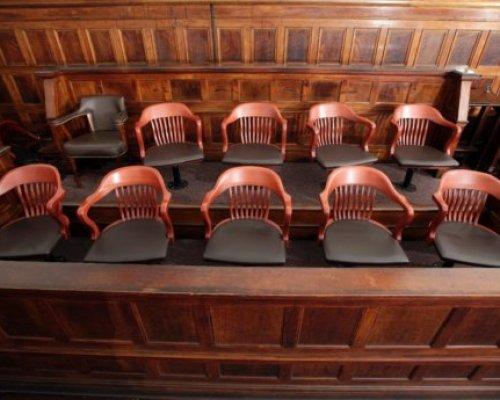 jury duty box